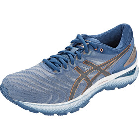 asics Gel-Nimbus 22 Scarpe Uomo, sheet rock/graphite grey